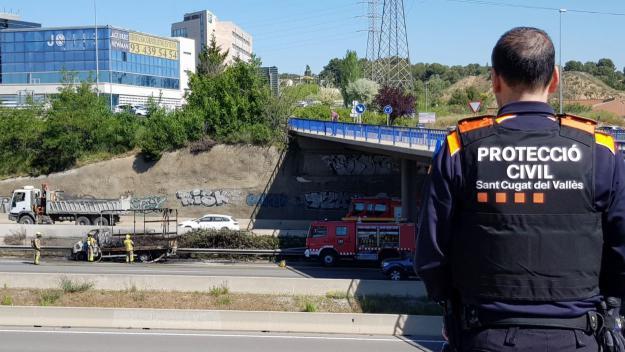 La furgoneta cremada / Foto: Ajuntament