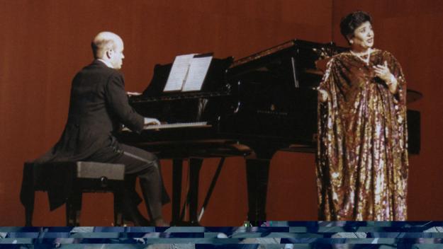 Important concert de Victoria de los Ángeles a Sant Cugat fa 24 anys