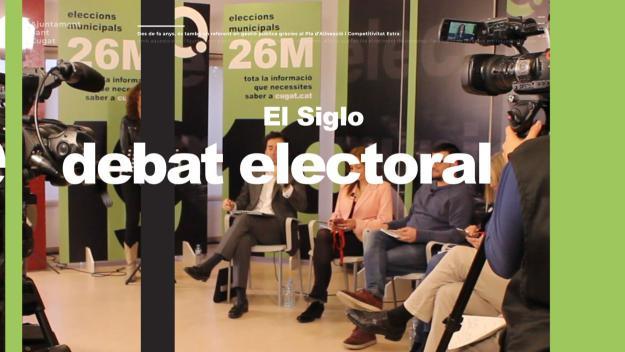 El debat definitiu de les eleccions municipals tindrà lloc a El Siglo / Foto: Cugat Mèdia