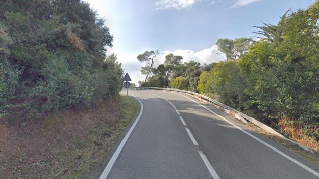 Punt on ha tingut lloc l'accident / Foto: Google Maps