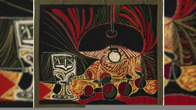 Fa 16 anys s'exposava per primera vegada un tapís de Picasso a Sant Cugat