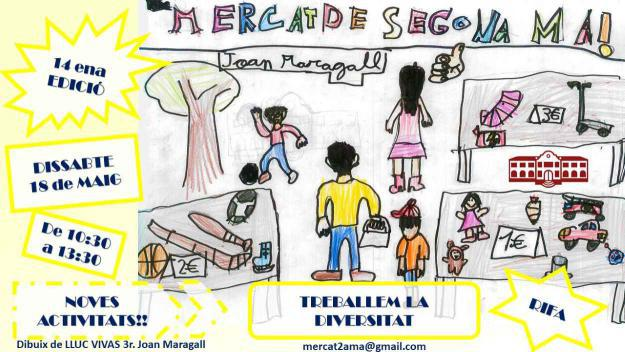 14è Mercat de Segona Mà Escola Joan Maragall