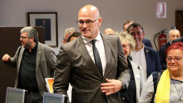 Raül Romeva, de nou candidat d'ERC al Senat