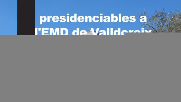 Els sis presidenciables de l'EMD de Valldoreix, aquest dijous al debat territorial del 26-M
