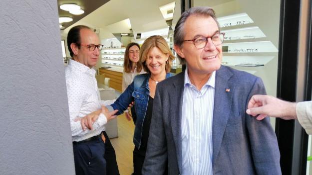 Artur Mas: 'No contemplo que Junts per Sant Cugat perdi l'alcaldia'