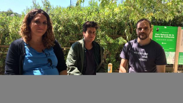 Núria Gibert, Dolors Cruset i Pau Sánchez han presentat les propostes / Foto: Cugat Mèdia