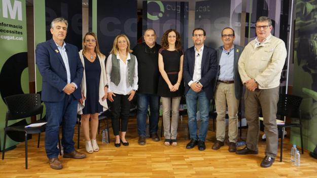 Els sis presidenciables de Valldoreix van a totes al debat electoral