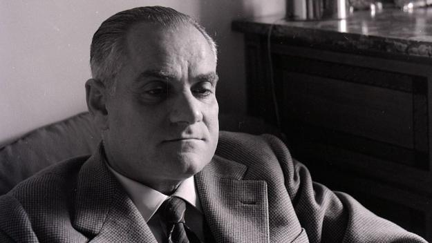 Una imatge d'arxiu d'Alberto Moravia / Foto: CC - Archivio Paolo Monti