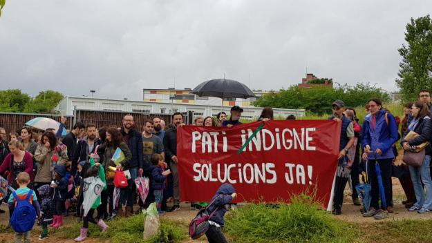 Divendres de reivindicació de les AFA de La Mirada, La Floresta i Ciutat d'Alba
