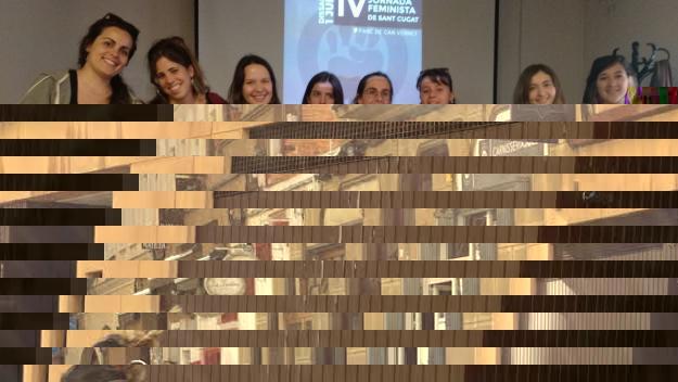 El col·lectiu Hora Bruixa està integrat per una vintena de dones / Foto: Cugat Mèdia