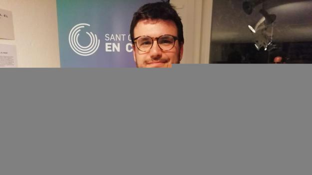 Ramon Gutiérrez, cap de llista e Sant Cugat en Comú / Font: Cugat.cat