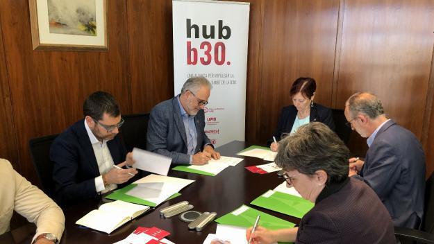 Àmbit B30, Sincrotró Alba, EsadeCreapolis i UAB, junts per la innovació