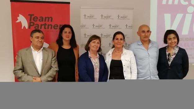 Presentació de la cursa Metres de Vida / Font: Cugat.cat