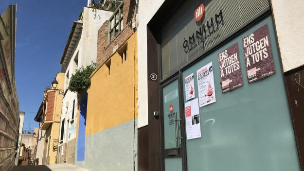 Actualment la seu d'Òmnium es troba al carrer dels Marges / Foto: Cugat Mèdia