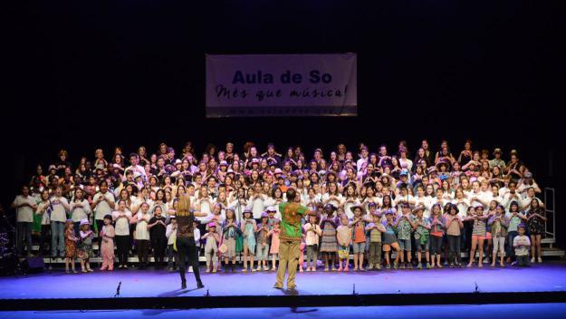 Imatge d'arxiu d'un concert d'Aula de So / Foto: Localpres