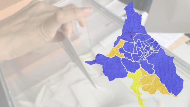 Consulta els resultats, carrer a carrer / Foto: Cugat Mèdia