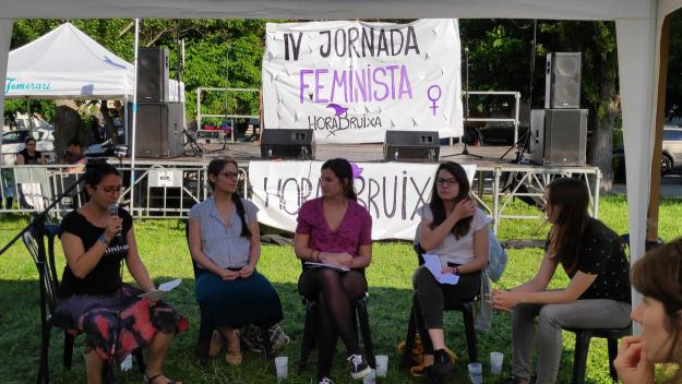Moment de la xerrada / Foto: Cugat Mèdia