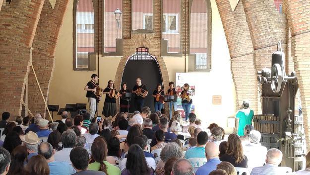 El concert ha tingut lloc al Celler Modernista / Foto: Cugat Mèdia