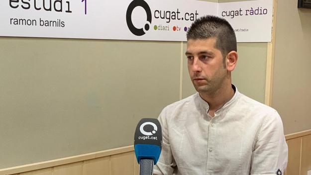 El tècnic de l'Atlètic Junior, Alberto Morales, satisfet amb la plantilla / Font: Cugat.cat