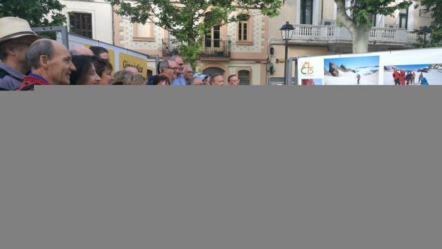 Membres del club, fent-se una foto de família / Foto: Cugat Mèdia