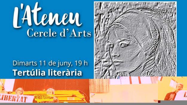 Cercle d'Arts: Tertúlia literària: Presentació del llibre 'Cos de poderosa llum', de Vicenç Llorca