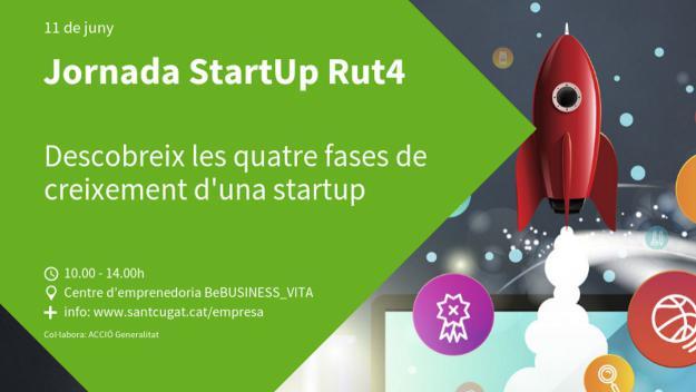 Jornada: 'Start-up Rut4: Les 4 fases d'acceleració d'una empresa emergent'