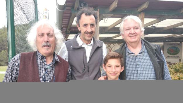 El primer per la dreta és Xavi Torradas, nou president de l'ARC Sant Cugat / Font: Xavi Torradas