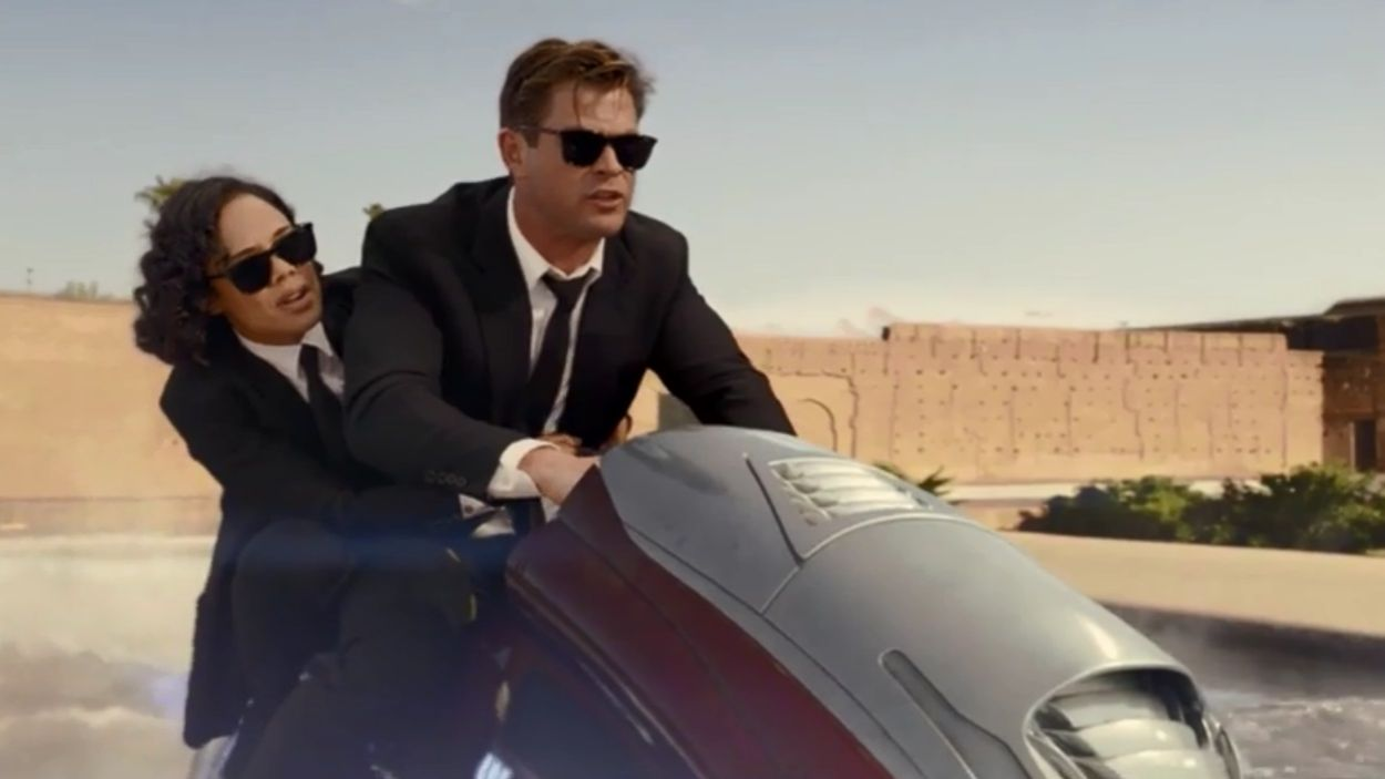 Tessa Thompson i Chris Hemsworth protagonitzen la nova pel·lícula de 'Men in Black' / Foto: Tràiler