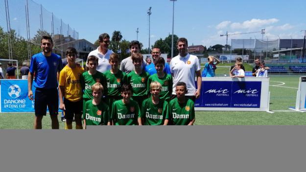 La Damm guanya la 13a edició del torneig Jaume Tubau aleví davant el FC Barcelona
