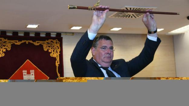 Josep Puig revalida la presidència de l'EMD per tercera vegada consecutiva / Foto: Localpres