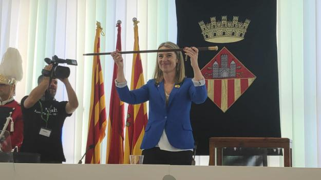 La nova alcaldessa, Mireia Ingla / Foto: Cugat.cat