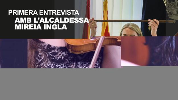 La primera entrevista de la nova alcaldessa, a Cugat Mèdia