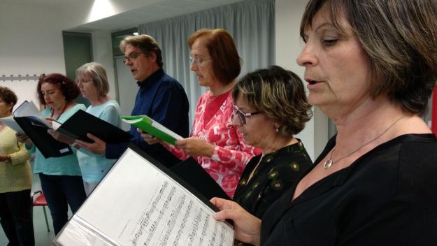 Les corals Tardor, Sardacant i La Unió fan els últims assajos per al Dia Internacional de la Música