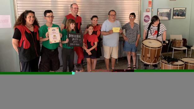 Els Diables de Sant Cugat recapten 240 euros per al Taller Jeroni de Moragas