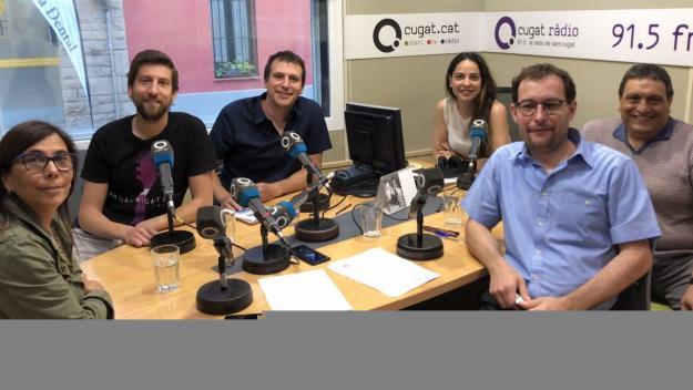 Els grups municipals valoren el pacte de govern i el ple d'investidura de Mireia Ingla