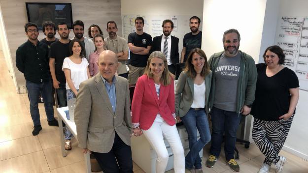 Primera visita de Mireia Ingla a Cugat Mèdia com a alcaldessa