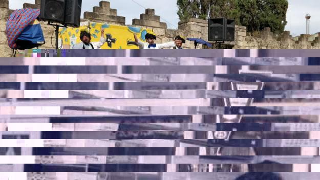 Pallassos Sense Fronteres ha amenitzat la jornada / Foto: Cugat Mèdia