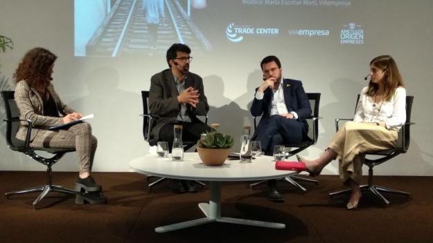 La trobada sobre el 5G ha tingut lloc al Sant Cugat Trade Center / Foto: Cugat Mèdia
