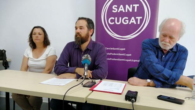 Podem està satisfet amb els resultats, tot i que lamenta no haver arribat a una coalició amb Sant Cugat en Comú / Foto: Cugat Mèdia