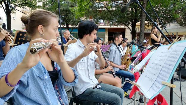 El Dia Internacional de la Música fa vibrar Sant Cugat