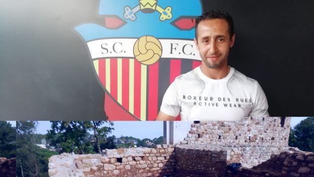 Naufal seguirà sent el capità del SantCu a la nova temporada / Font: Sant Cugat Futbol Club