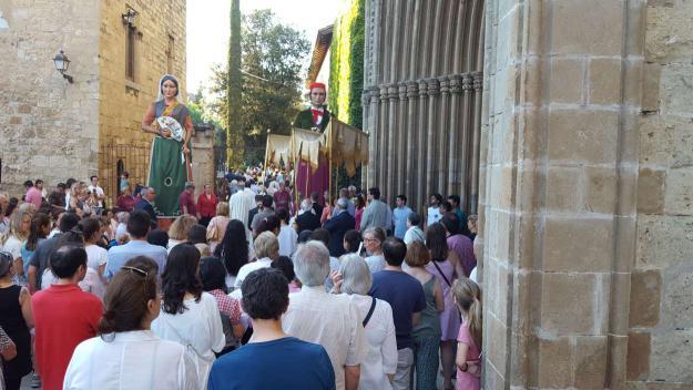 Celebració del Corpus Christi al Monestir