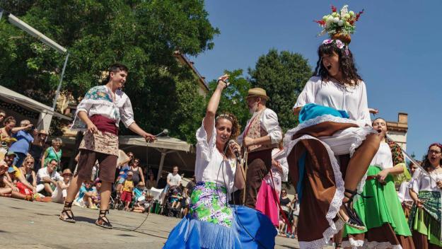 Les danses tradicionals, protagonistes / Foto: Ajuntament