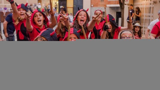 Els Diables més joves tornaran a sortir al carrer / Foto: Ajuntament
