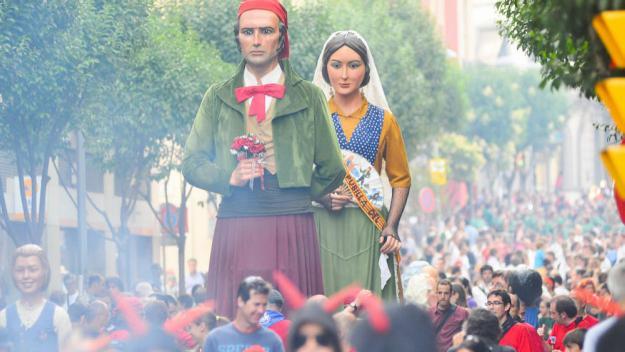 Imatge d'arxiu de la Festa Major de Sant Cugat / Foto: Localpres