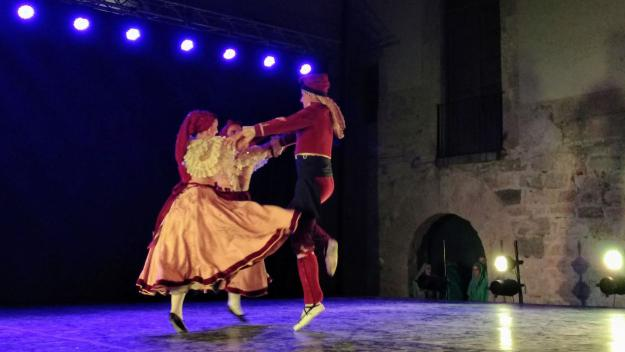 Una de les peces interpretades ha estat 'Danses de Vilanova' / Foto: Cugat Mèdia