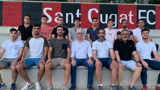Alguns dels integrants del SantCu 2019-2020 / Font: SantCu