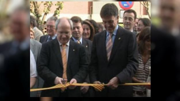 L'expresident de la Generalitat Montilla amb l'exalcalde Recoder / Foto: Cugat Mèdia