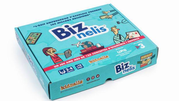 Biznelis, un joc apte a partir dels 10 anys / Font: Kidnelis.com