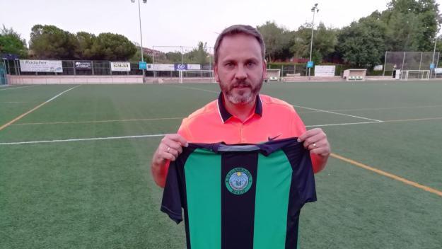 Carlos Murillo, nou tècnic del Mira-sol Baco / Font: Mira--sol Baco